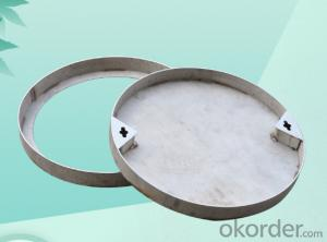 Casted Ductile Iron Manhole Covers B125 and D400 for industry with Competitive Prices Made in China