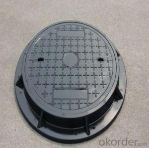 New design ductile iron manhole cover for mining in Hebei Province