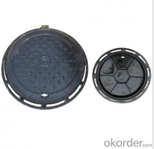 Casted Ductile Iron Manhole Cover C250 for Mining with Frames Made in China