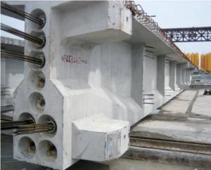 Concrete Bridge Construction T type shape beam steel formwork for Railway and Highway projects