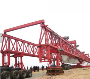 800 ton 45M horizontal launcher goes into construction work.