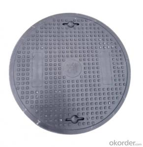 ductile iron manhole covers with high quality made in China