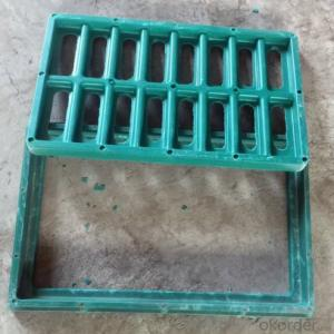 Cast Ductile Iron Manhole Cover C250 for Mining with Frames Made in China