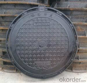 EN 214 ductile iron manhole covers with high quality in Hebei