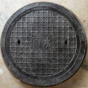 casted ductile iron manhole cover for mining EN124 Standards Made in China