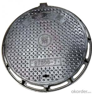 casting ductile iron manhole covers for mining and industry EN124 Standards Made in Hebei