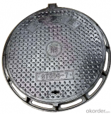 Cast Ductile Iron Manhole Cover C250 for Mining with Frame Made in China