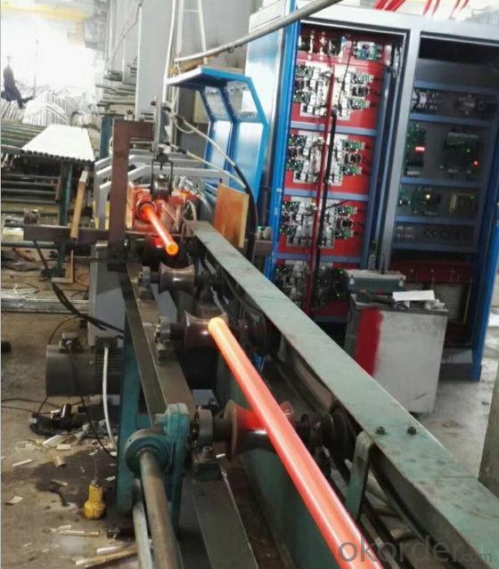 induction heating machine for round bar billet