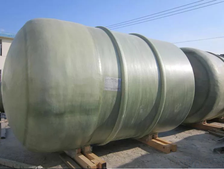 5000 cubic meter large winding on-site FRP tanks