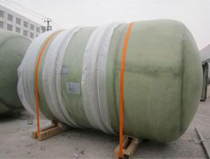 Filament winding vertical-setting FRP food tanks