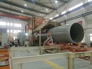Fiberglass Anti-corrosion underground FRP GRP Pipes