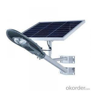 Ce RoHS Outdoor New Product 40 w LED Solar Light for Street / solar street light lithium battery