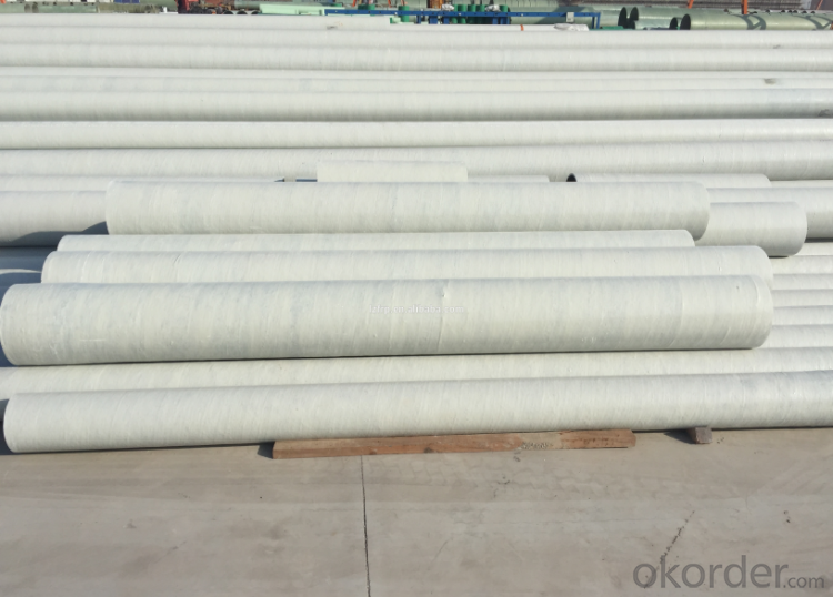 high strength excellent properties of corrosion resistance FRP pipe