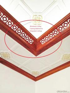 Ceiling Framing Material for Integrated Ceilings
