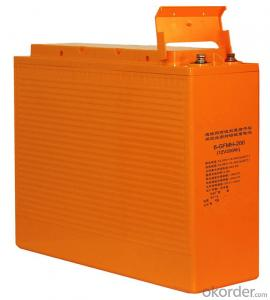 front terminal 12V 100AH high  temperature battery