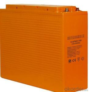 front terminal 12V 100AH high  temperature battery