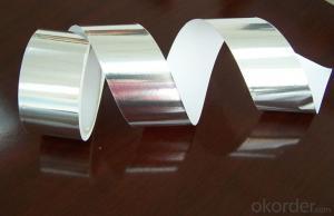 Solvent Based Acrylic Aluminum Foil Tape T-S3601P