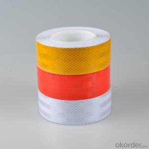 Reflective warning tape/traffic warning tape/full color