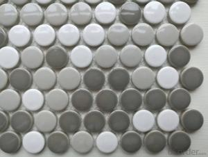 Mixture Penny Round Mosaic Tile for decorative backsplash