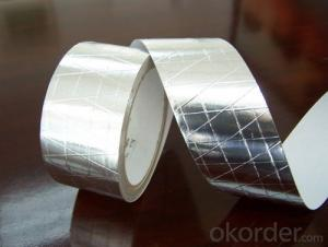 With Blue PE Release Film Aluminum Foil Tape T-S4001BL