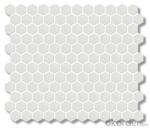 "Classic 1"" Hexagon Ceramic Mosaic Tile best sale"
