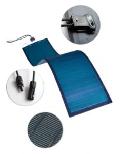 The flexible thin film solar module 100w
