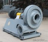 High pressure and corrosion-resistant FRP fan