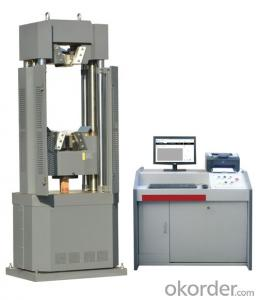 ele-hydraulic servo universal testing machine
