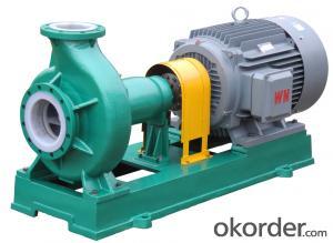 IHF series fluorine plastic centrifugal pump