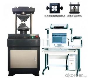 microcomputer controlled rock universal testing machine