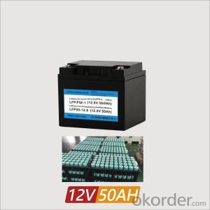 Home Storage Lithium Ion Batteries Battery 12V 50Ah for solar systems