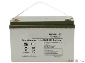 Supply TNG12-100 On-grid off-grid energy storage gel battery
