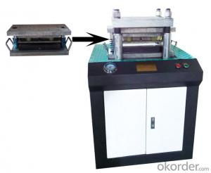 Dumbbell-shaped hydraulic sample preparation machine