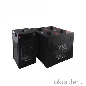 lead-acid free maintenance battery bank for 5kw solar system