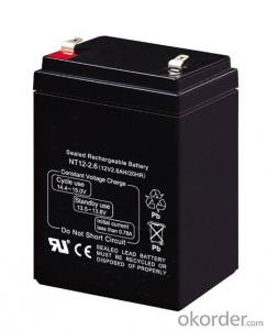 Rechargeable SLA SMF AGM Sealed Lead-Acid Battery 12V 2.6Ah 20Hr