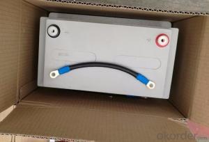 100AH12V AGM lead-acid solar battery OEM to EU/Australia/Korea/Africa