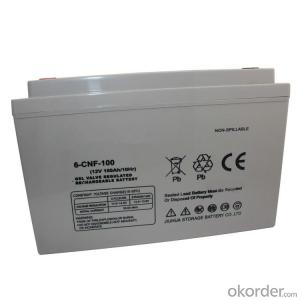 100AH12V AGM lead-acid solar battery OEM to EU/Australia/Korea/Africa