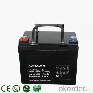 Deep-Cycle Solar UPS Power Lead-Acid Storage Battery 12V 33AH 35AH 36AH 38AH