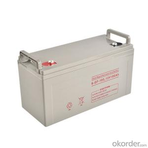 OEM Cheap Long life Lead acid maintenance free deep cycle gel solar 12V 100ah lead-acid battery