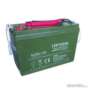 Gel Power Lead-Acid Battery 12V 150ah Gel Electric solar street light Battery