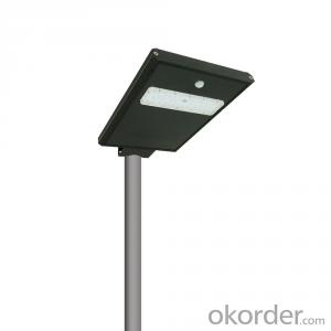 Cheap wholesale outdoor waterproof ip65 20w integrated all in one led solar street light