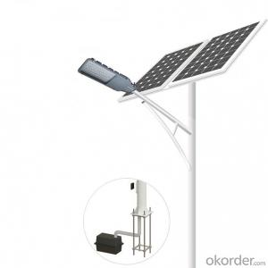 Good performance 20~100W solar street light
