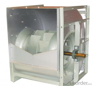 HRW double inlet backward curve centrifugal fan for air condition system