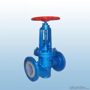 J41F-16 fluorine plastic shut-off valve