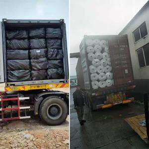 Needle Punched Nonwoven Geotextile for River Construction