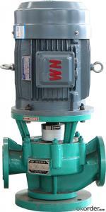 GBF series fluorine plastic lining pipeline pump