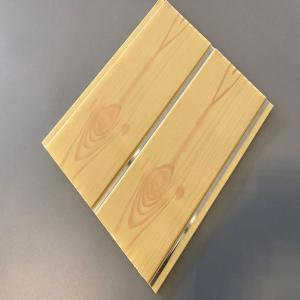 Wooden design pvc ceiling panels CNBM supply