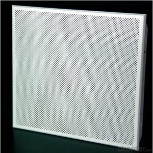 Aluminum Ceiling Suspended Perforated Ceiling tile
