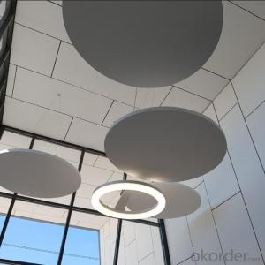 Acoustic Fiberglass Ceiling for Cinema Light Weight Ceiling