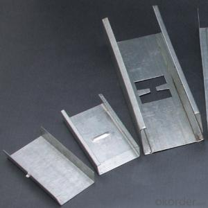 Galvanized Steel Drywall Profiles Ceiling Channels